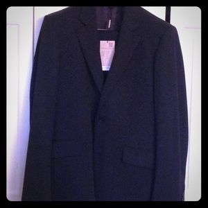 NWT  men's  Burberry black suit